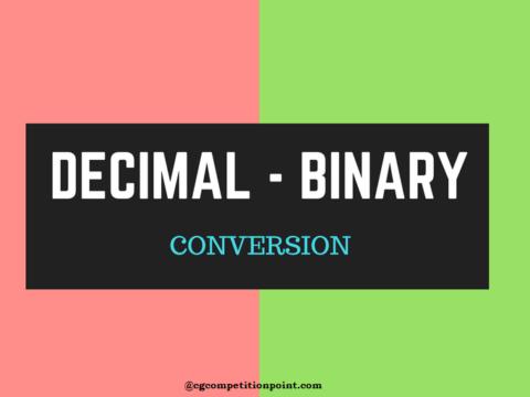 decimal binary system
