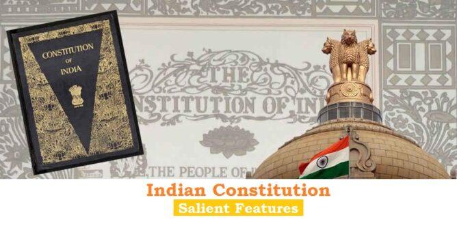 Constitution features