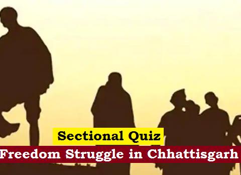 freedom struggle in chhatttisgarh
