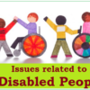 Issues related to Disabled People