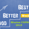Mission CGPSC 2019 | Week-2