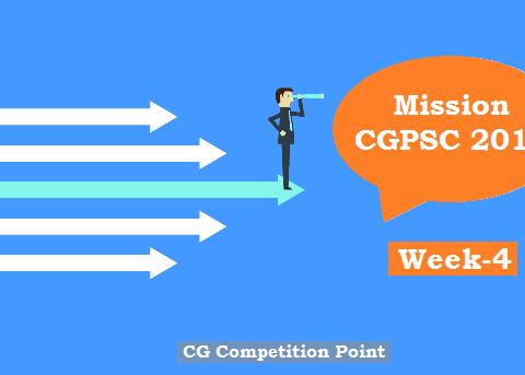Mission CGPSC 2019 Week-4