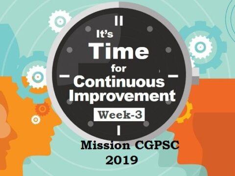 mission cgpsc 2019 week-3