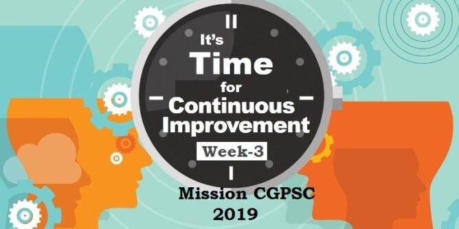 mission cgpsc 2019 week-3