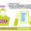 (CGPSC Pre 2019 Test Series) Test-4