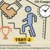 (CGPSC Pre 2019 Test Series) Test-2