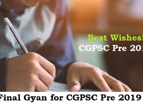 good wishes CGPSC Pre 2020