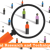Social Research and Techniques