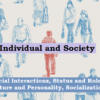 Individual and Society: Social Interactions, Status and Role, Culture and Personality, Socialization