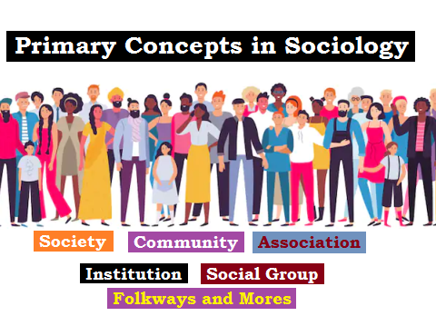 primary concepts in sociology