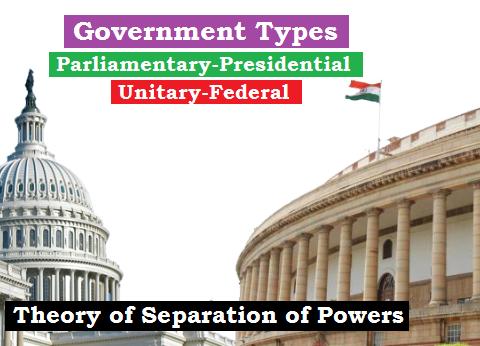 govt types