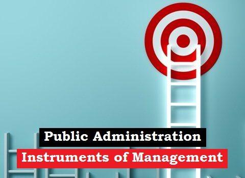 instruments of management