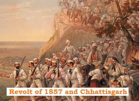 1857 revolt and Chhattisgarh