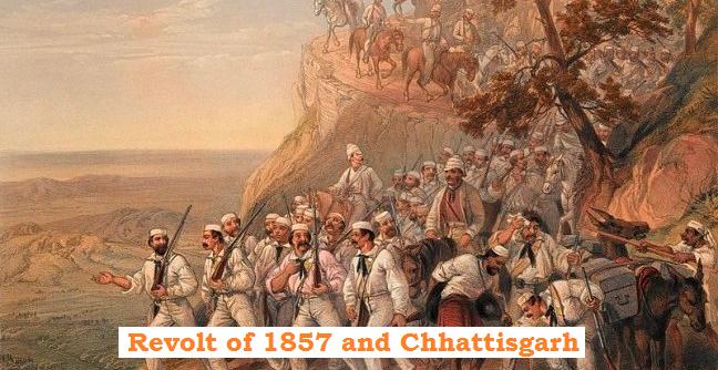 1857 revolt and Chhattisgarh